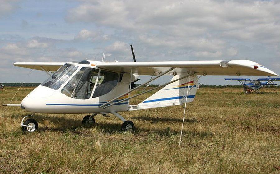 В Солигорском районе из-за птицы в пруд упал легкий самолет рыбхоза
