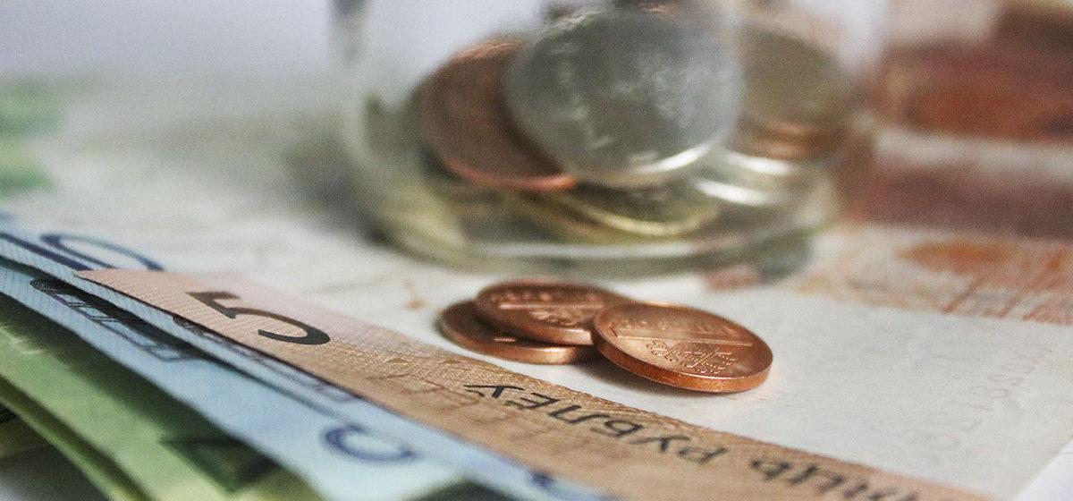 Белстат: 25% белорусов получают зарплату в тысячу рублей и больше