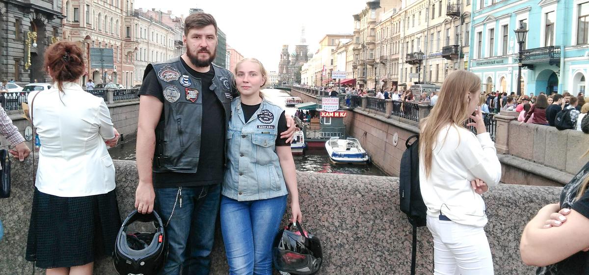 Как пара из Барановичей съездила на мотоцикле в свадебное путешествие на Баренцево море