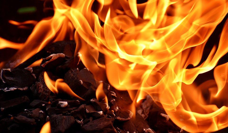 Под Барановичами горел сарай