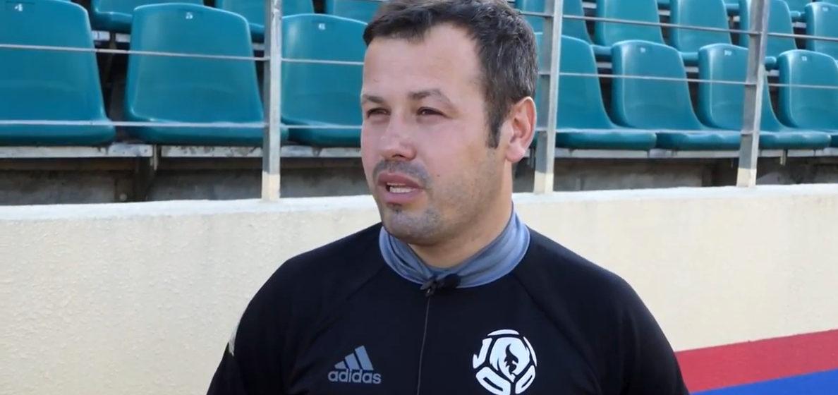 Главный тренер ФК «Барановичи» перешел в другую команду. Прощальное интервью