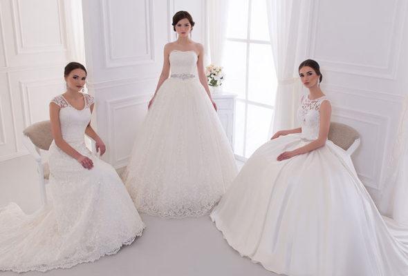 Роскошные наряды от салона «The Wedding Shop» — ключ к сказочной свадьбе