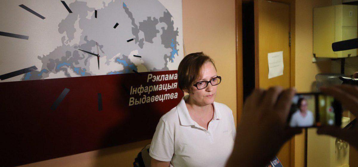 Задержана главный редактор БелаПАН Ирина Левшина, в ее квартире прошел обыск