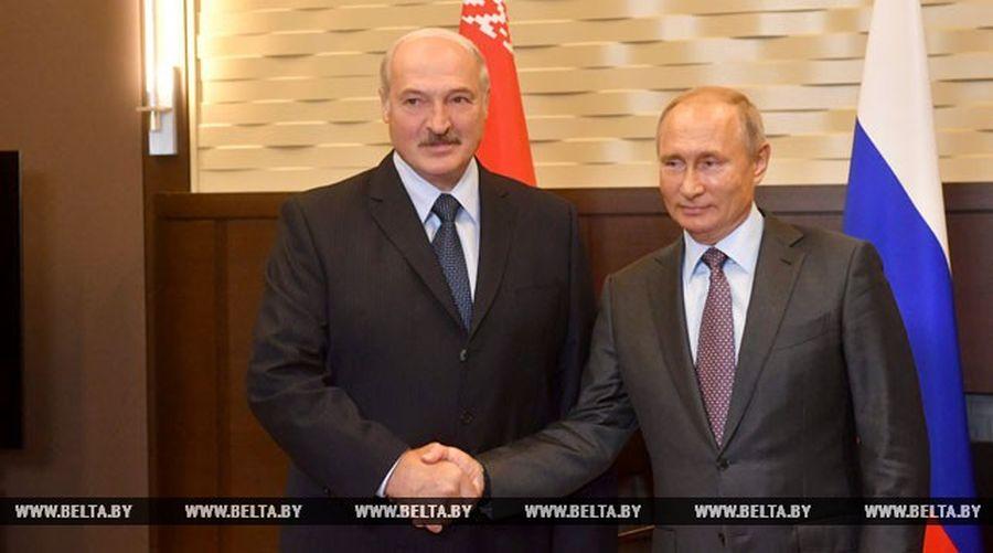 В Сочи Путин почти на два часа опоздал на встречу с Лукашенко