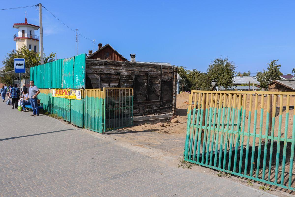 Барановичи, Тельмана, Пожарное депо, стройка