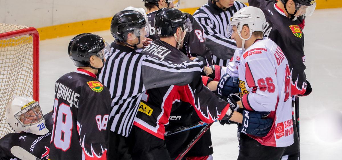 ХК «Барановичи» проиграл домашний матч ХК «Могилев»