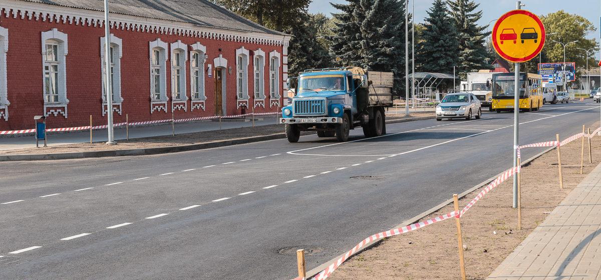 Фотофакт. На улице Фроленкова нанесли дорожную разметку