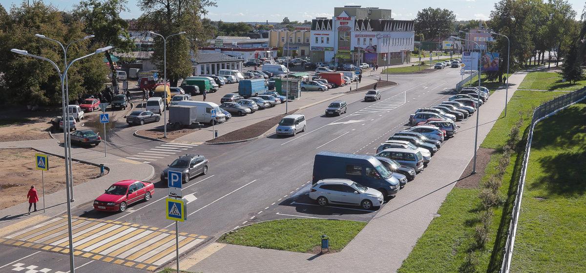 Новые пешеходные переходы и островки безопасности. Как изменилась дорожная разметка на улице Фроленкова в Барановичах