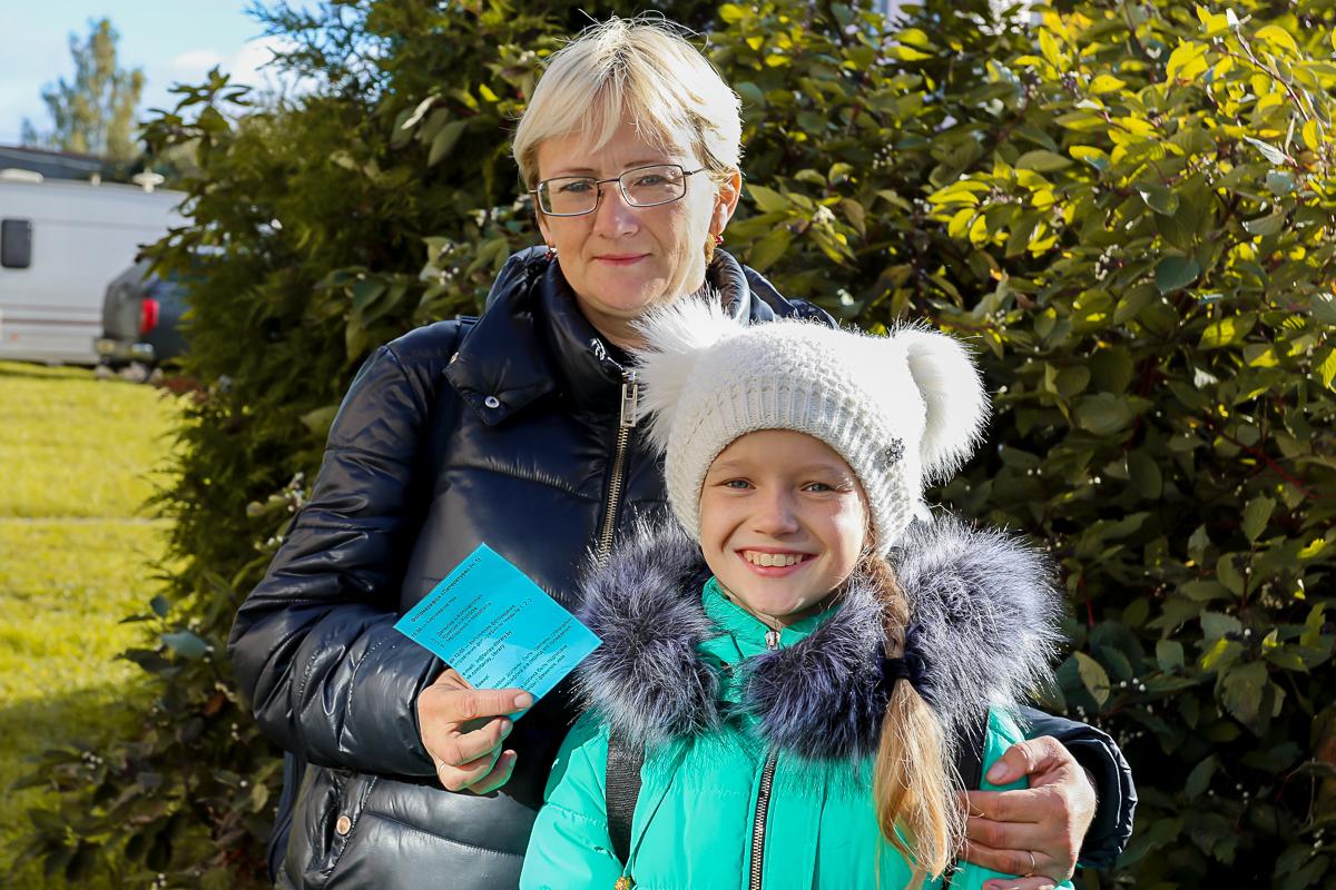 Светлана и Татьяна в прошлом году заняли 3-е место. И в этот раз также решили поучаствовать.