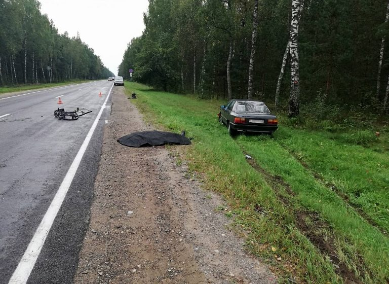 Задержали водителя, который под Молодечно насмерть сбил велосипедиста и уехал