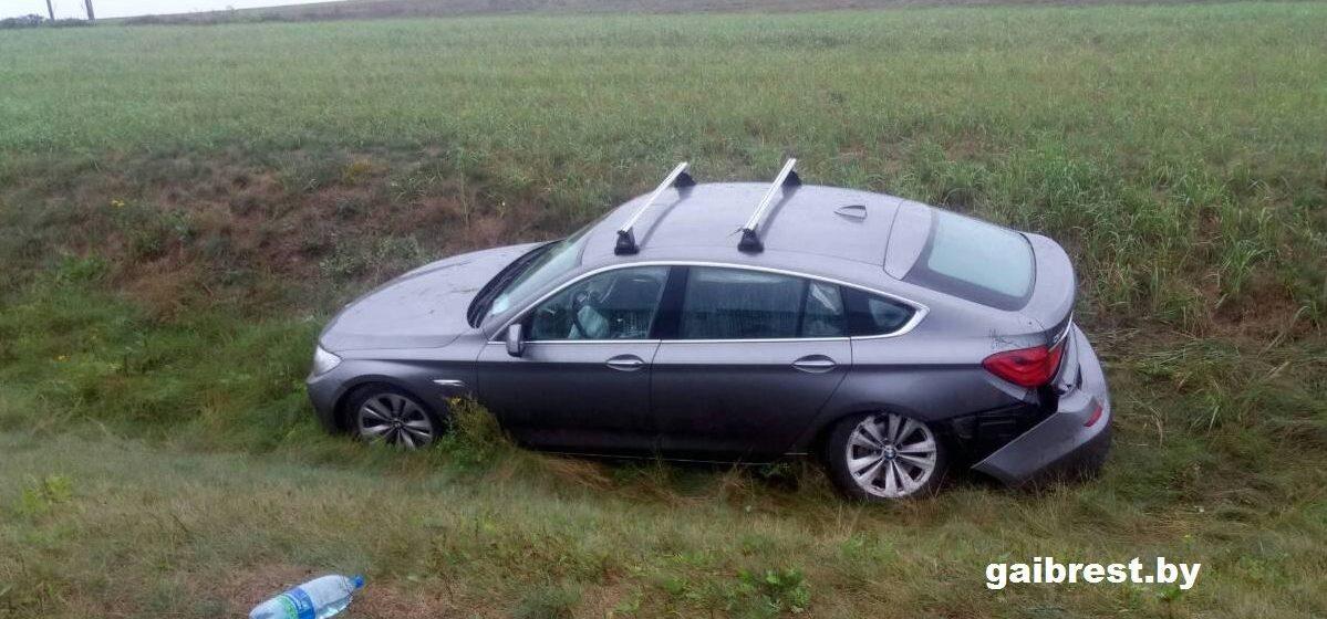Под Барановичами произошла авария. Пострадал 14-летний подросток