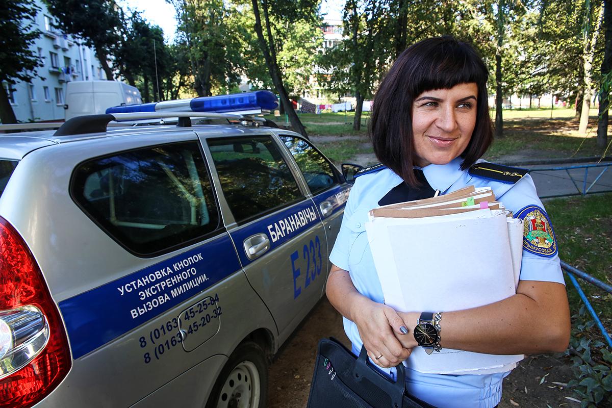 Судебный исполнитель Ольга Потапович.