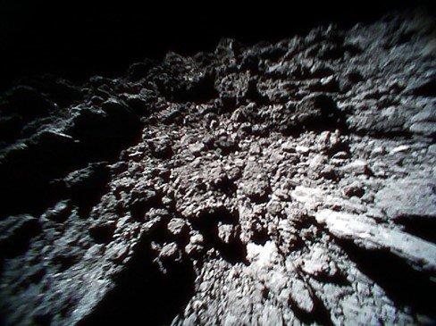 Снимок поверхности, переданный Rover-1B 23 сентября
