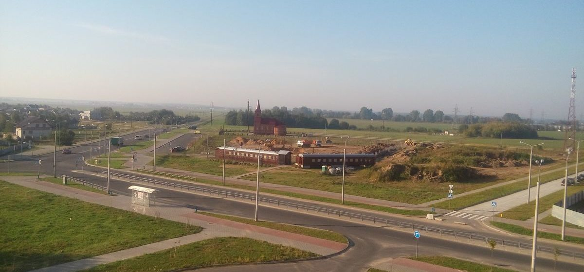 Фотофакт. В Барановичах начинают строить новый православный храм
