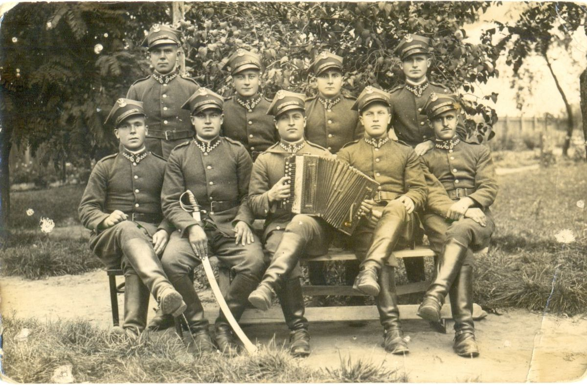 Белорусы, солдаты Войска Польского, Западная Беларусь, конец 1930-х годов