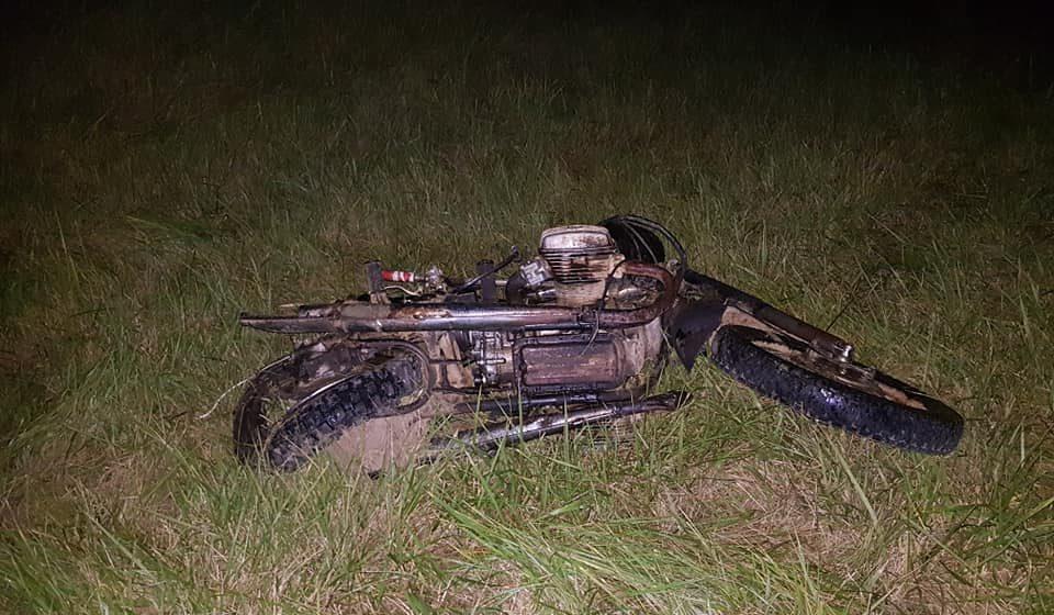 Под Могилевом автомобиль столкнулся с мотоциклом, погибли два человека (фото)