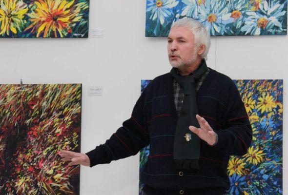 Умер белорусский художник Виктор Тихонов