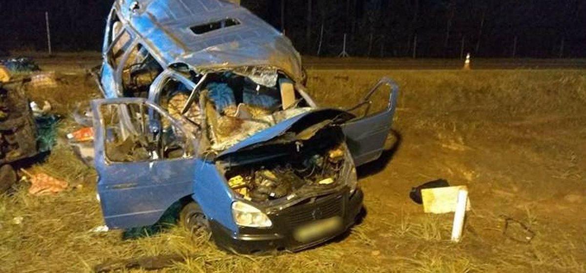 В Осиповичском районе столкнулись три машины: два человека погибли, восемь пострадали