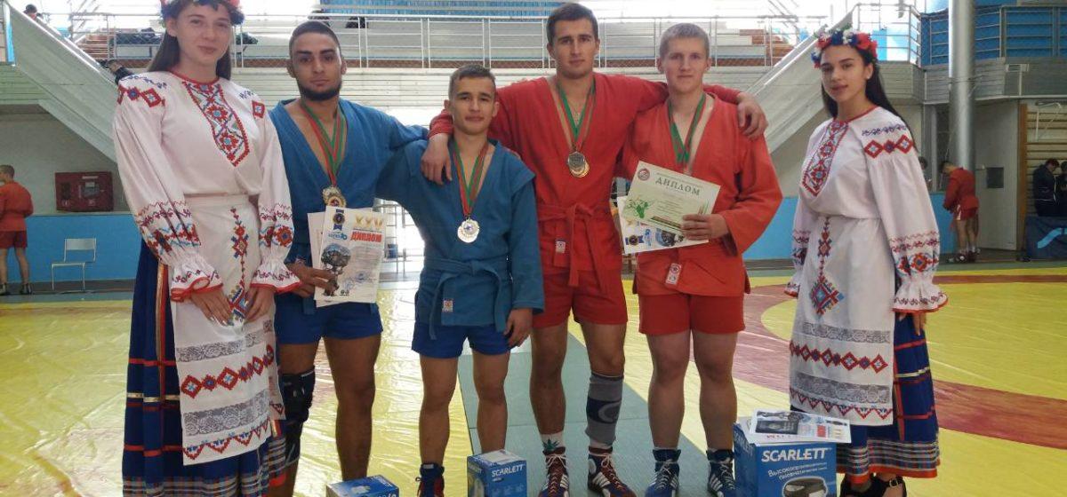 Барановичские борцы самбо – в числе победителей и призеров первенства Беларуси