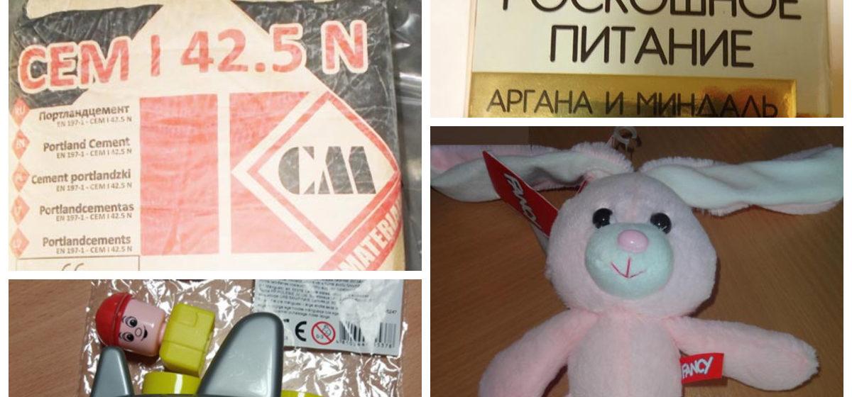 Восемь белорусских товаров, признанных небезопасными на европейском рынке (фото)