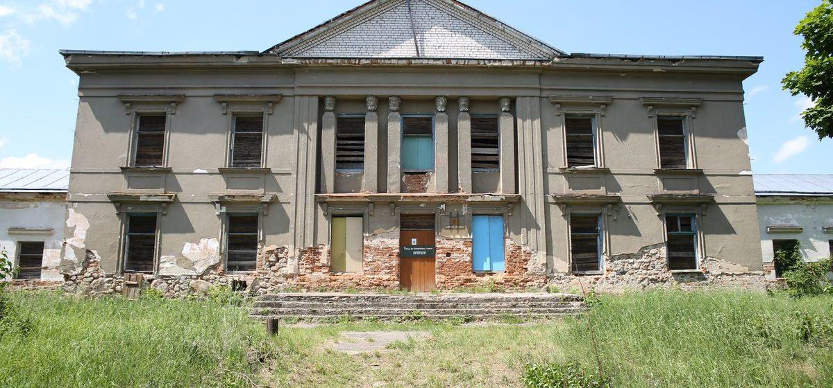Попытка продать бывший дворец Радзивиллов в Полонечке снова провалилась