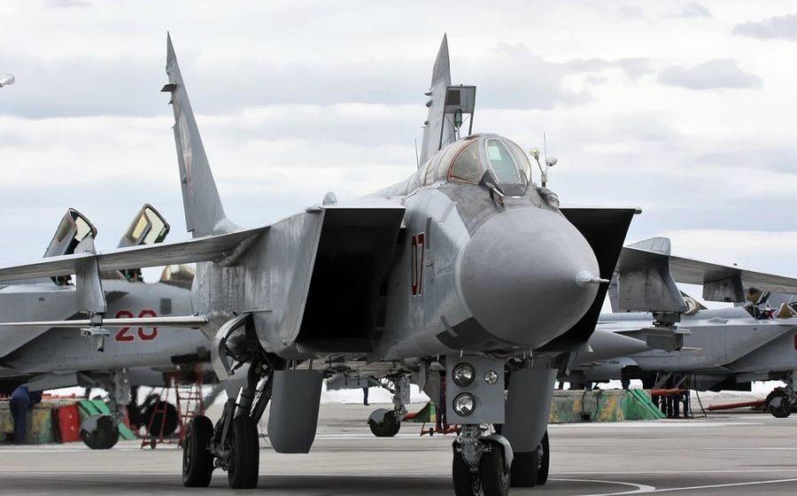 В России во время тренировочного полета разбился МиГ-31