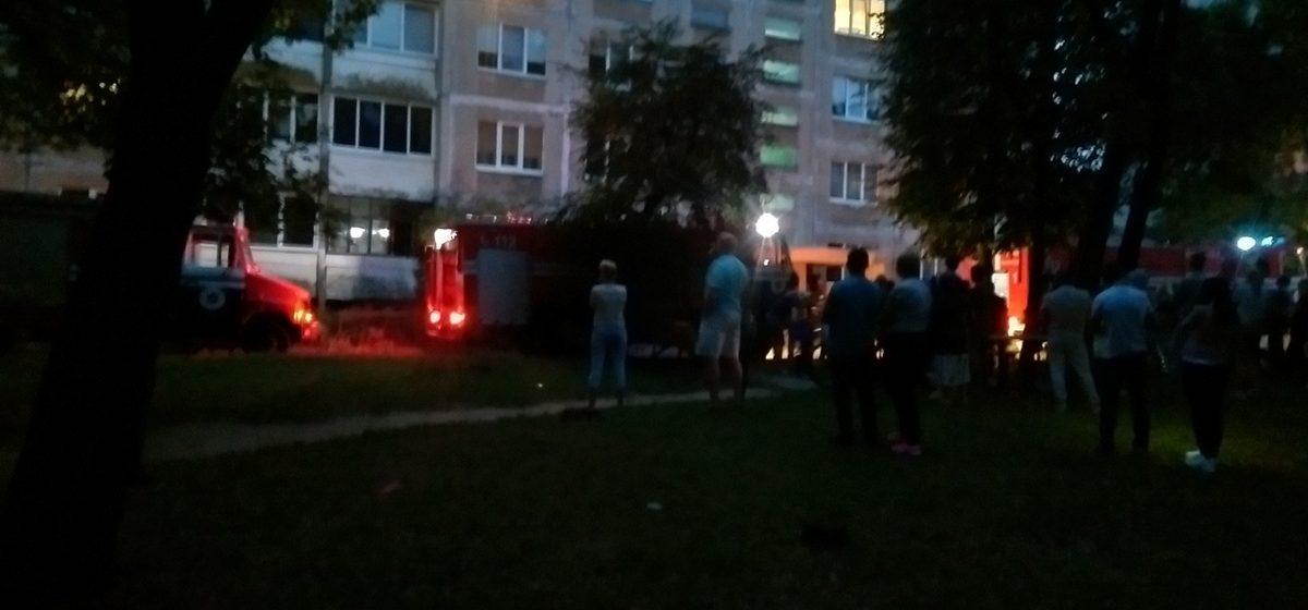 В Барановичах горела квартира в многоэтажке