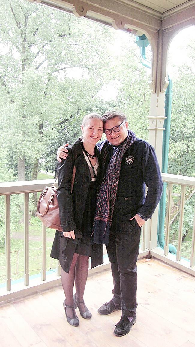 Наталья Коцовская и Александр Васильев. Фото: архив Натальи КОЦОВСКОЙ