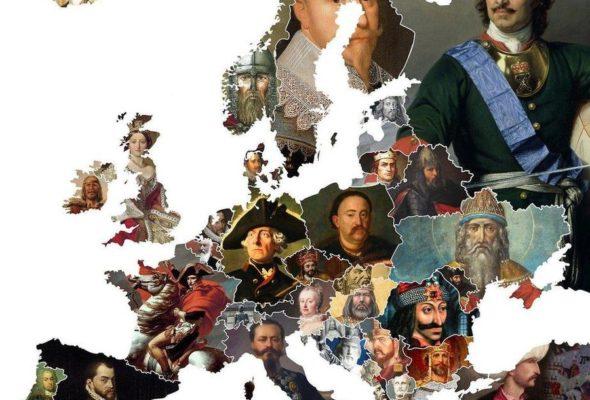 В интернете опубликовали карту политических кумиров в европейских странах. Никто не может понять, чей портрет выбран для Беларуси