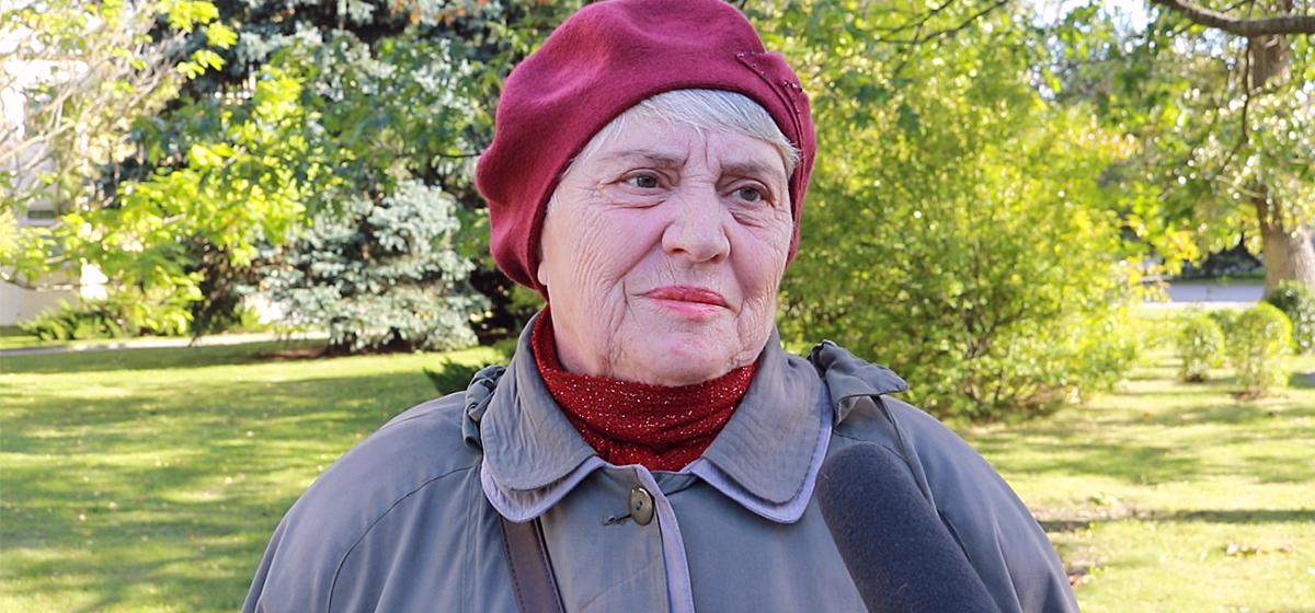 Видеоопрос: Достойная ли старость у пенсионеров в Беларуси?