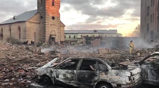 Мощный взрыв произошел на заводе пиротехники в Ленинградской области. Среди погибших – гражданин Беларуси