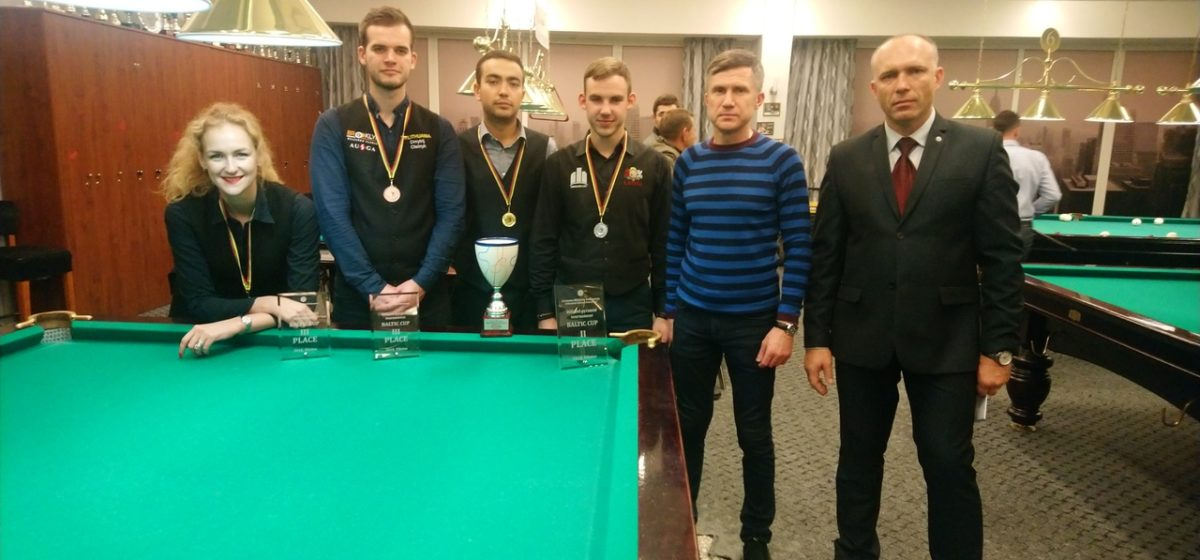 Мастер бильярда из Барановичей выиграл международный турнир в Литве