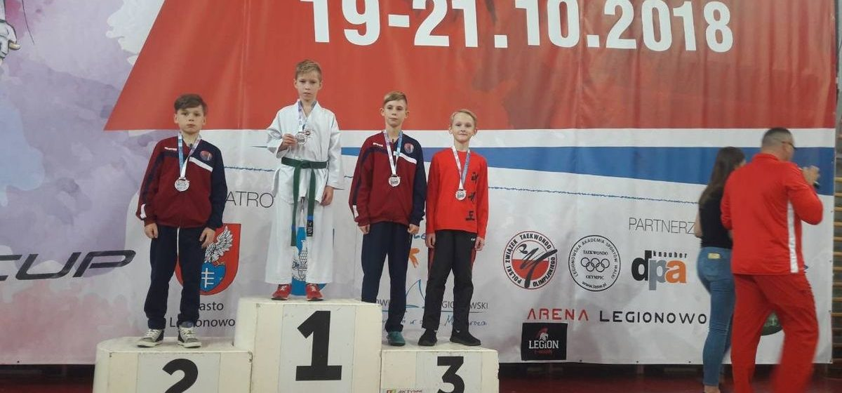Воспитанники БФСО «Динамо» привезли медали с Международного турнира по тхэквондо в Польше