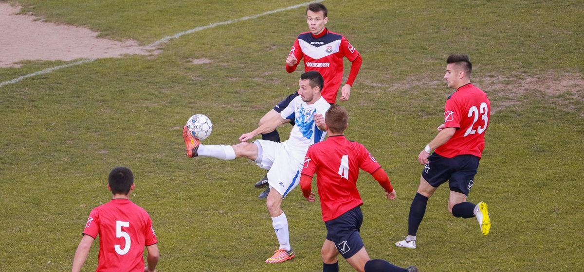 ФК «Барановичи» одержал вторую победу подряд и обезопасил себя от вылета во вторую лигу