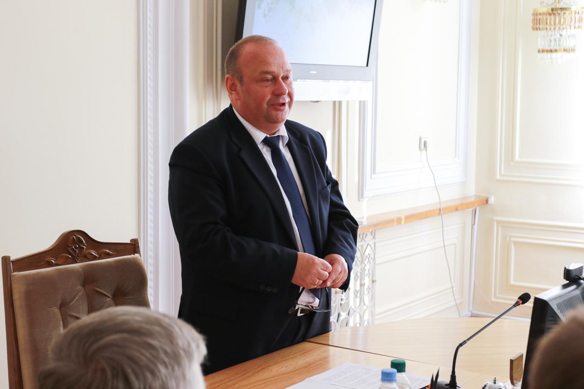 Председатель Барановичского горисполкома Юрий Громаковский. Фото: Александр ЧЕРНЫЙ