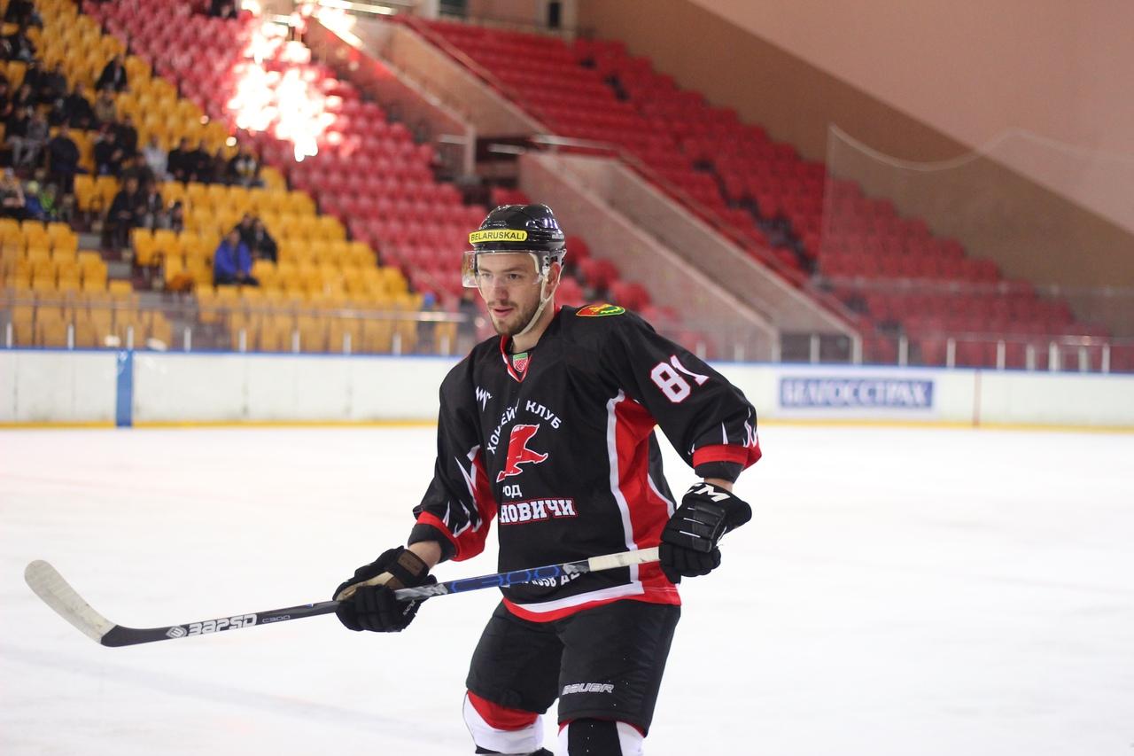 Один из трех лучших игроков матча – Александр Бунец. Фото: Владислав ИГОРЕВИЧ