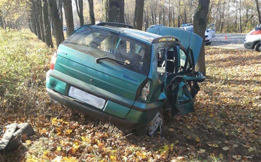 В аварии в Смолевичском районе погиб пассажир, два человека пострадали