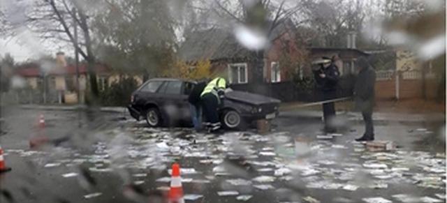 В Бресте BMW несколько раз перевернулся, водителя выбросило из салона. Он в реанимации