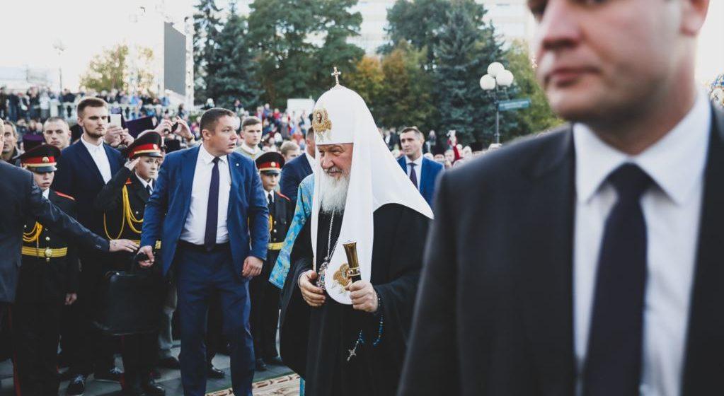 Минскому священнику запретили служить, потому что он критиковал патриарха Кирилла