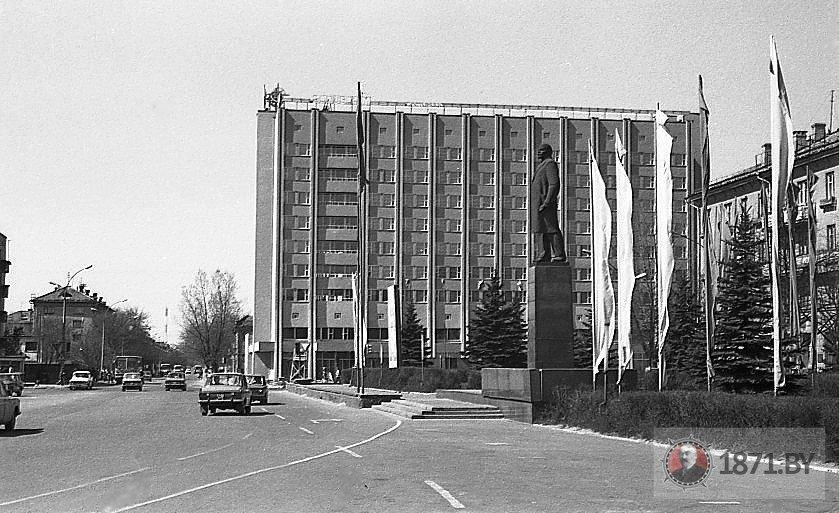 1980 год. Гостиница «Горизонт». Фото: сайт 1871.by