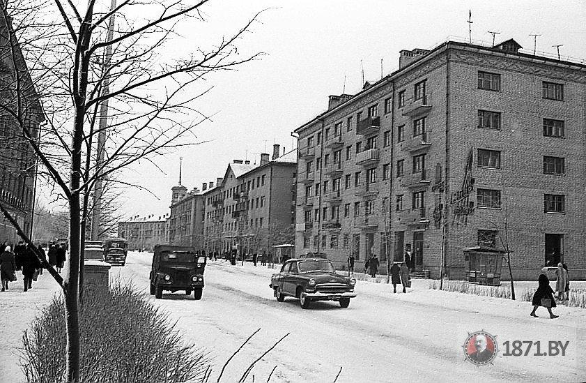 1963 год. улица Ленина. Фото: сайт 1871.by