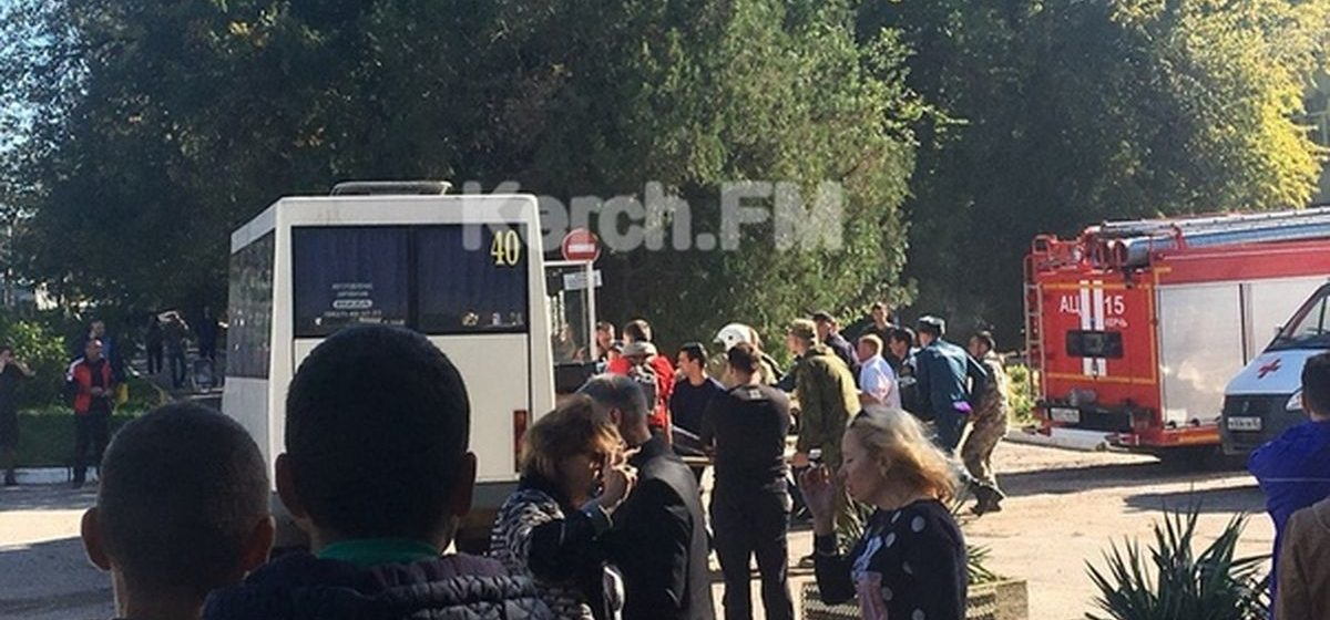 В Керчи в колледже взорвалось «неустановленное взрывное устройство». Десятки погибших, более 70 раненых (фото/видео)