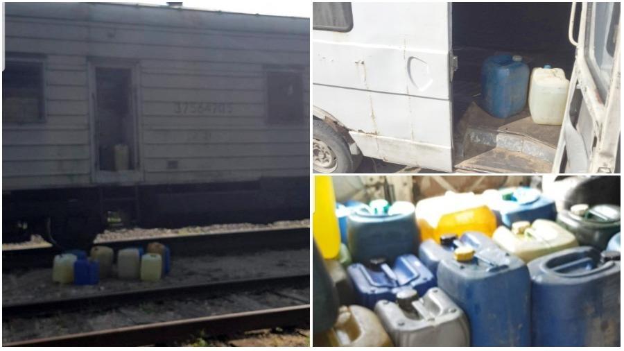 Милиция задержала четырех работников БЖД за хищение дизтоплива на 1,8 тысячи рублей