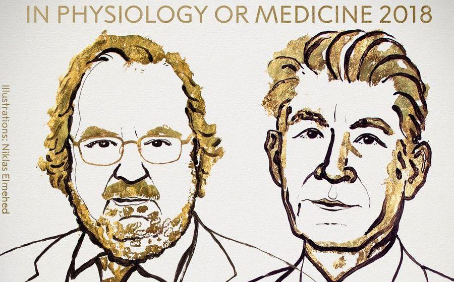 В Стокгольме присудили Нобелевскую премия по медицине за терапию рака