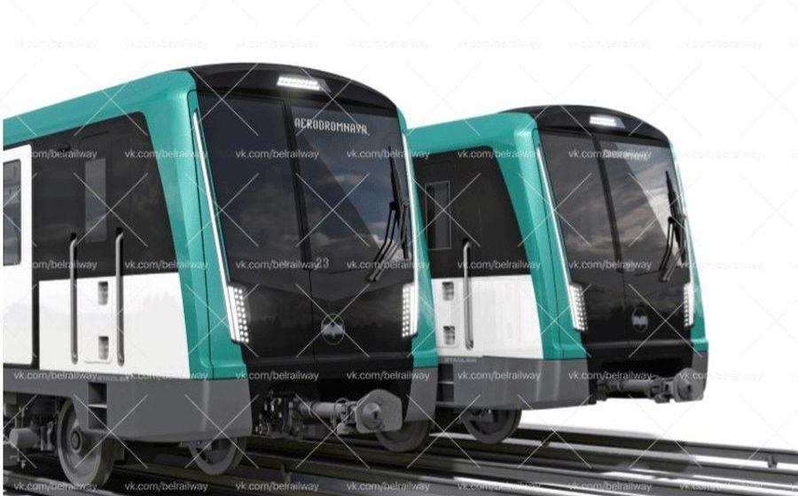 Фотофакт. Как будут выглядеть новые поезда для Минского метро