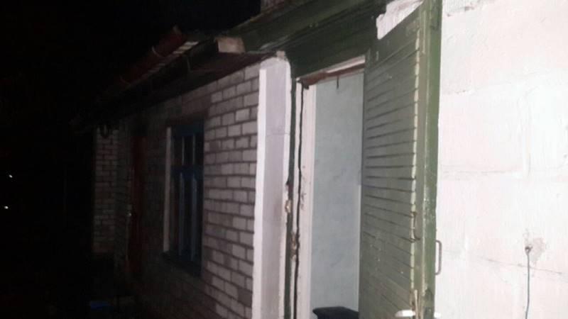 В Барановичах горел дом