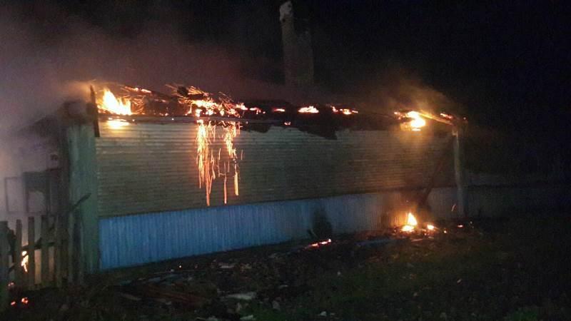 В Барановичском районе горел дом. В огне погиб мужчина