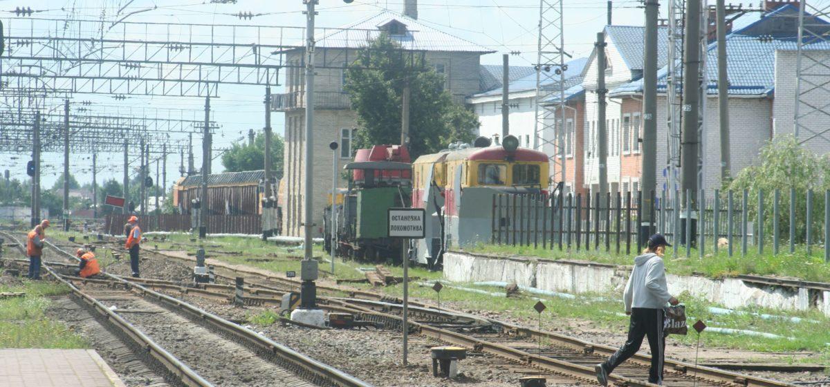 Под Жабинкой поезд наехал на 47-летнего мужчину