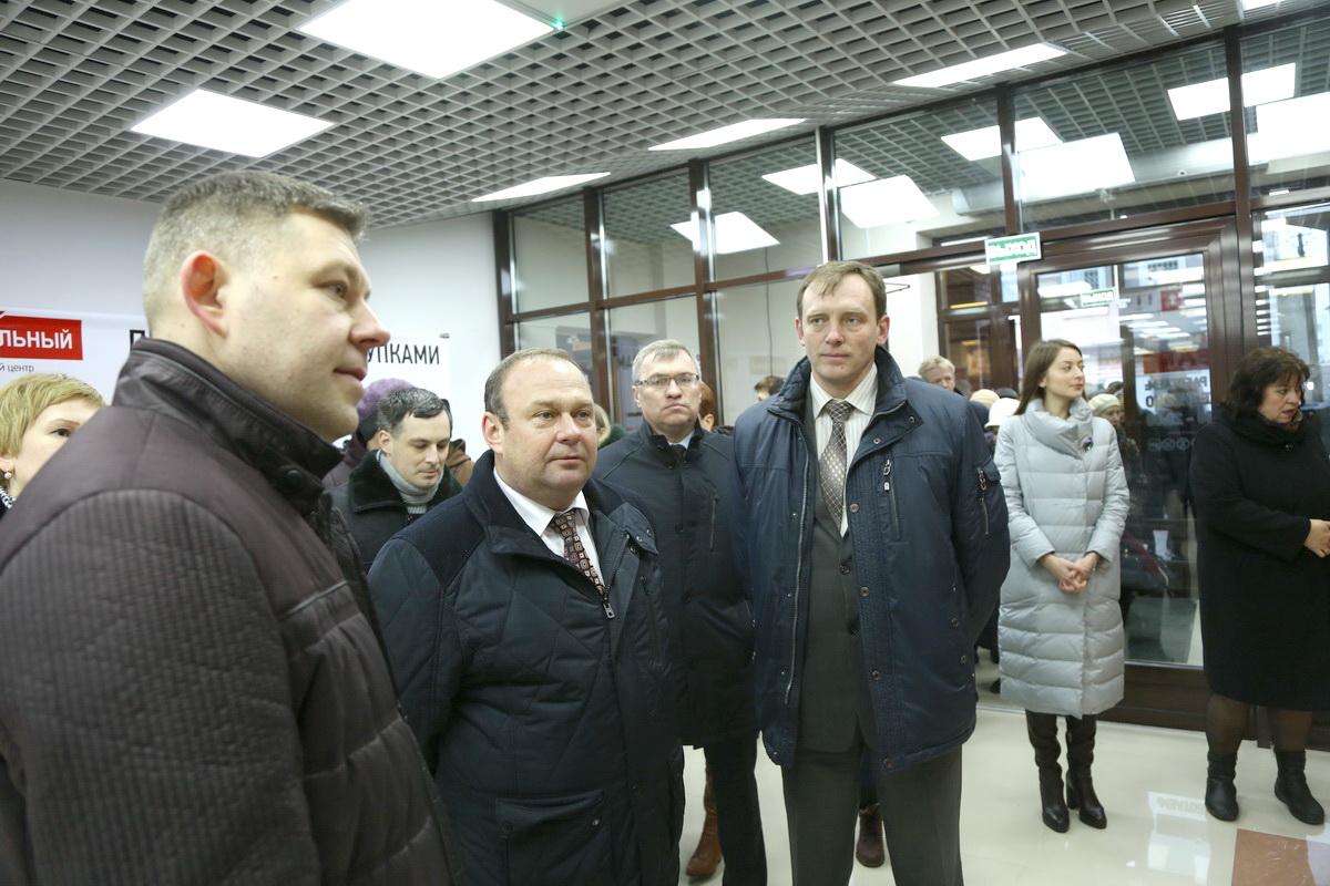 3 марта 2017 года. Открытие Торгового центра «Центральный». Фото: архив Intex-press