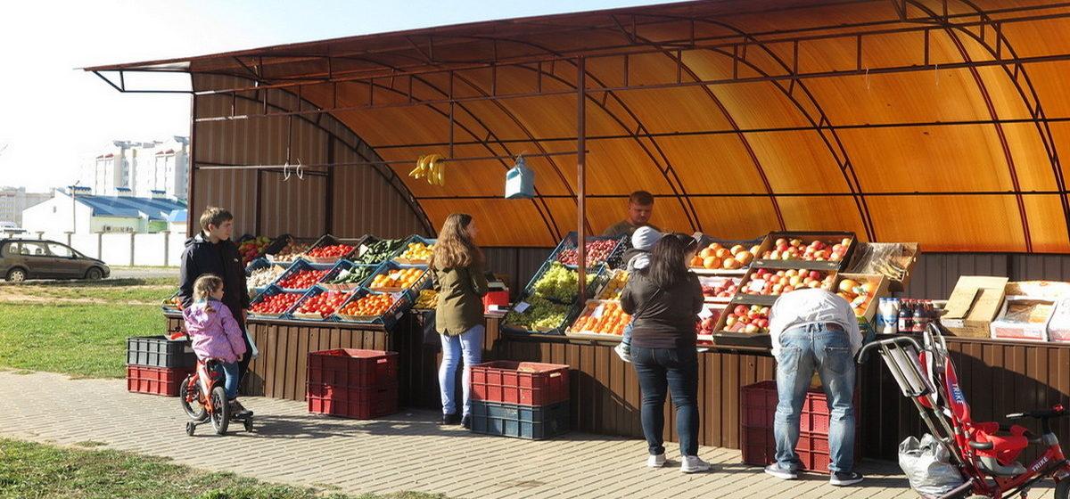 В Барановичах в микрорайоне Боровки открылся мини-рынок